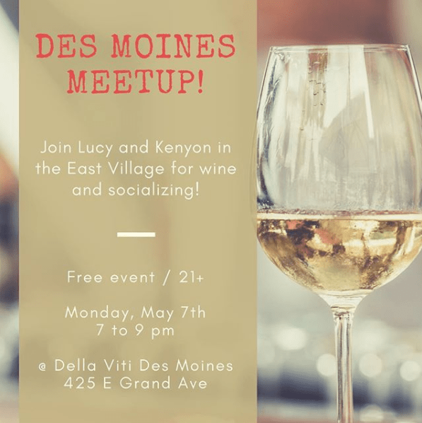 DSM Meetup Graphic