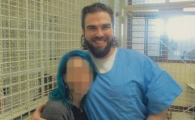 daniel and blogger friend in prison WHO IS NOT ME