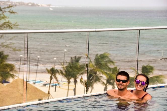 Sandals Royal Barbados | Travel Couple Blog | Caribbean | rooftop pool