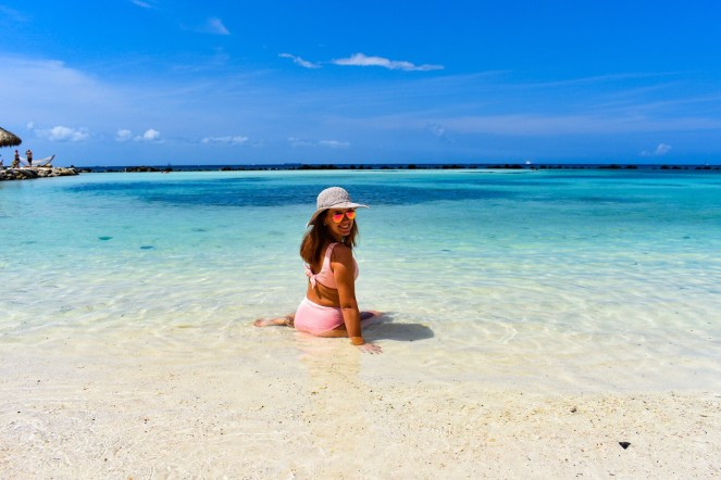 Flamingo Beach in Aruba | Renaissance Resort + Private Island