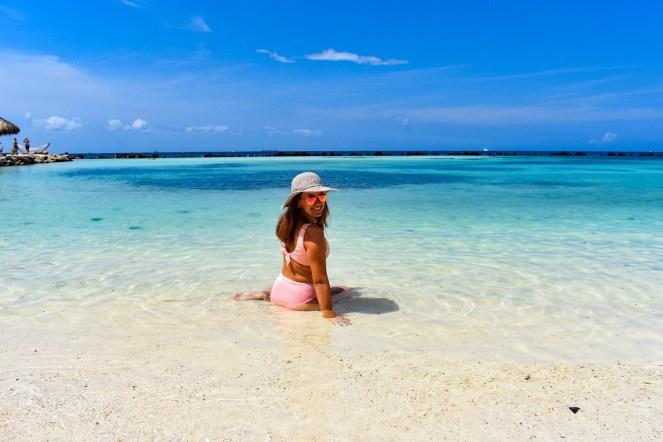 Flamingo Beach in Aruba | Renaissance Resort + Private Island