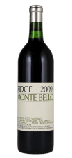 Monte Bello, Santa Cruz (98+ Parker) Ridge Vineyards 2009