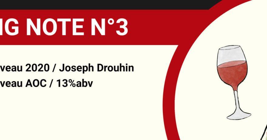 tasting note joseph drouhin beaujolais nouveau