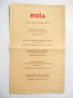A Louis Jadot Premier and Grand Cru Wine Tasting Dinner at Roia Restaurant Review