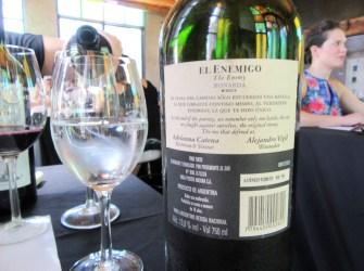 El Enemigo, Bonarda 2011, Mendoza, Argentina, Wine Casual
