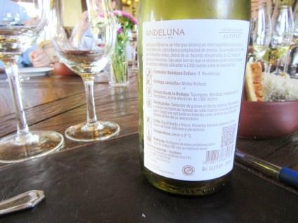 Andeluna, Altitud Chardonnay 2012, Tupungato, Uco Valley, Mendoza, Argentina, Wine Casual