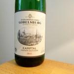 Schlosskellerei Gobelsburg, Grüner Veltliner 2015, Kamptal, Austria, Wine Casual