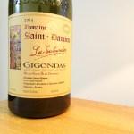 Domaine St. Damien, Les Souteyrades Vieilles Vignes Gigondas 2014, Rhone, France, Wine Casual