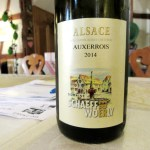 Domaine Schaeffer-Woerly, Auxerrois 2014, Alsace, France, Wine Casual
