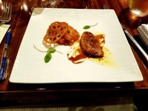 Third course, Gonzalez Byass sherry dinner at Olea New Haven.