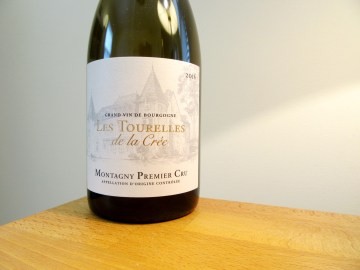 Chateau de la Crée, Les Tourelles de la Crée Montagny Premier Cru 2016, Burgundy, France, Wine Casual