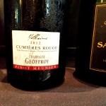 René Geoffroy, Cumières Rouge Pinot Meunier 2012, Coteaux Champenois, Champagne, France, Wine Casual