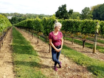 Jan Grimes, vineyard manager, Galer Estate Vineyard.