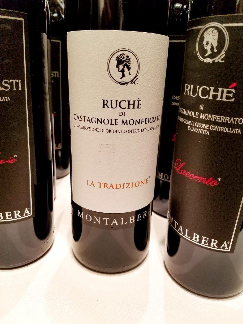 Montalbera Ruche di Castagonole Monferrato La Tradizione 2018, Gambero Rosso New York Winetasting, Wine Casual