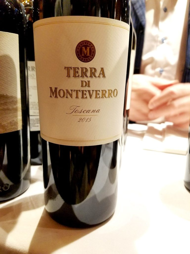 Monteverro Terra di Monteverro Toscana 2015, James Suckling Great Wines of Italy New York 2020, Wine Casual