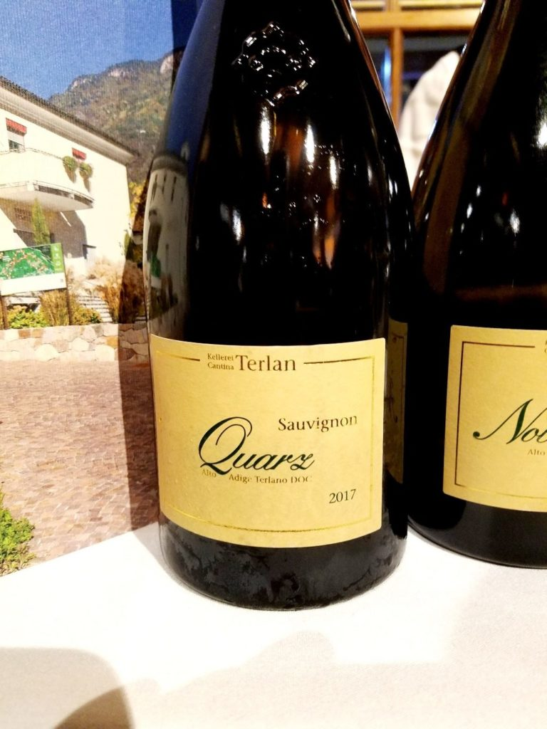 Cantina Terlan Sauvignon Quartz 2017, James Suckling Great Wines of Italy New York 2020, Wine Casual