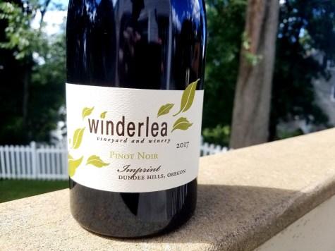 Winderlea Vineyard and Winery, Imprint Pinot Noir 2017, Dundee Hills, Oregon, Wine Casual