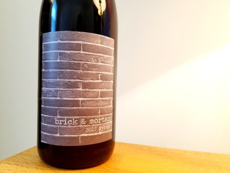 Brick & Mortar, Syrah 2017, West Block, Sonoma Coast, California, Wine Casual