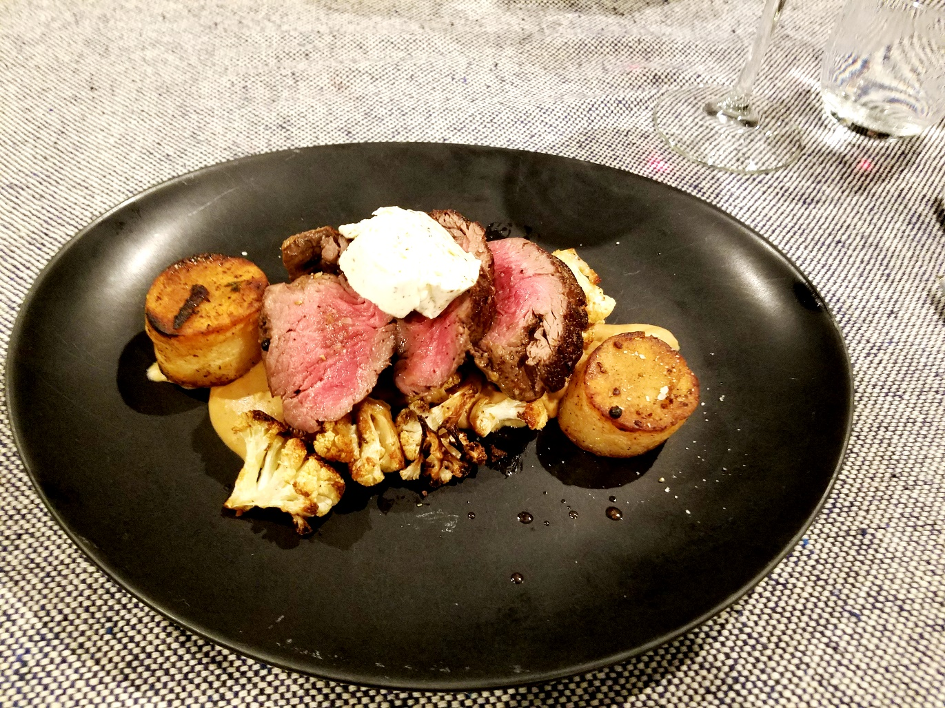 Dinner prepared by Chef David Murray of Denim BYOB. Wine Casual