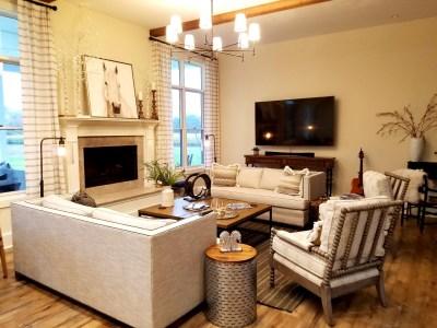 White Horse Winery Farmhouse living room.