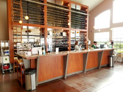 The tasting room at Tomasello Winery, the 68th oldest bonded winery in the United States.  Wine Casual
