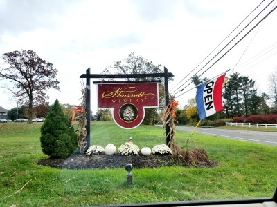 New Jersey hosts over 64 wineries such as Sharrott Winery in Hammonton, New Jersey.  Wine Casual
