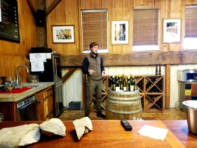 Unionville Vineyards winemaker, Conor Quilty, is a champion of New Jersey fine-wine movement. Wine Casual