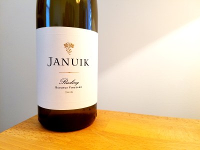 Januik, Bacchus Vineyard Riesling 2016, Columbia Valley, Washington, Wine Casual