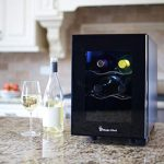 Magic Chef MCWC6B 6-Bottle Single-Zone Black Wine Cooler - Is this the BEST Small Wine Cellar?