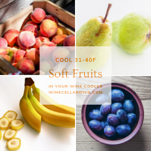 #3 Alternative Use for Wine Cooler - Keep Soft Fruits