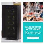 Westinghouse WWT100MB Thermoelectric 10 Bottle Mini Wine Cooler