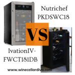 The Cooler Wine Cooler: Battle Between NutriChef PKDSWC18 & Ivation IV-FWCT181DB