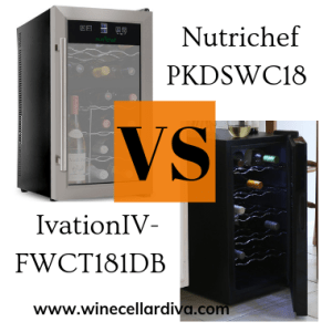 Nutrichef PKDSWC18 VS Ivation IV-FWCT181DB