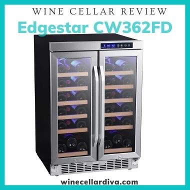 Edgestar CW362FD 36 Bottle Dual Zone Wine Cooler Review