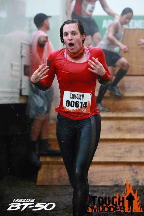 tough mudder, artic enema, crossfit babe