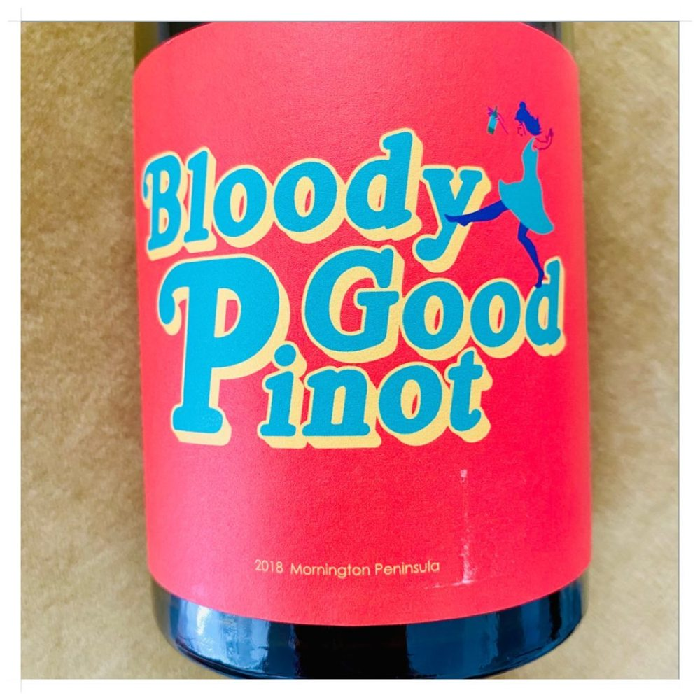 Tipsy Aunt Flo - Bloody Good Pinot, Wine Chats Podcast