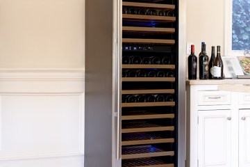 Wine Cooler Stainless Steel
