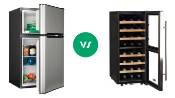 Wine Cooler vs Refrigerator