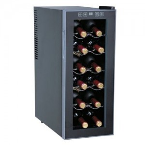 Sunpentown ThermoElectric 12-Bottle Slim Wine Cooler