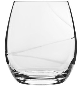 Luigi Bormioli Aero Stemless Wine Glass
