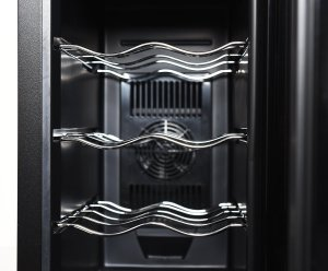 Ivation 12 Bottle Wine Cooler / Size