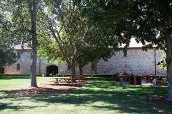 Picnic area at Charles Krug