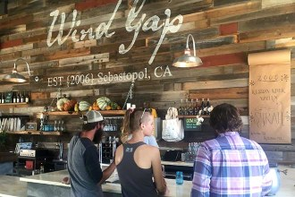 Wine Gap tasting room