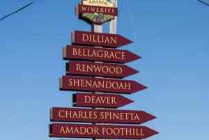 Sierra Foothills wine country