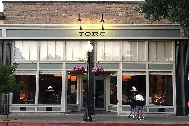 Torc - one of many fine restaurants in downtown Napa