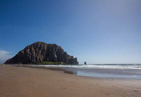 We recently explored Morro Bay and Cambria