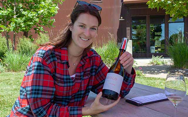 Nicole Pope, winemaker Stolo Family Vineyards