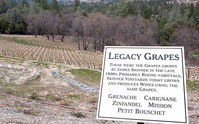hidden wine country -sierra foothills fairplay