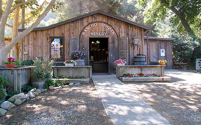 Rancho Sisquoc winery on the Foxen Canyon Wine Trail