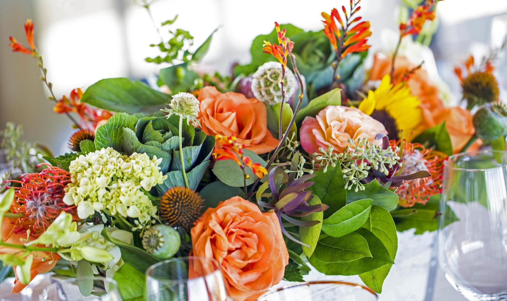 summer floral arrangements ideas for